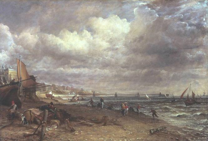 Chain Pier, Brighton 1826-7 John Constable 1776-1837 Purchased 1950 http://www.tate.org.uk/art/work/N05957