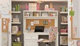 quarto-adolescente-escrivaninha-estante-menina-pink-cor-de-rosa