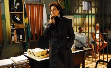 Em 2008 na pele da delegada Marta Rocha, em Guerra & Paz