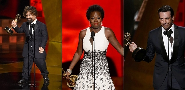 Peter Dinklage, Viola Davis e Jon Hamm saíram consagrados na 67ª edição do Emmy Awards