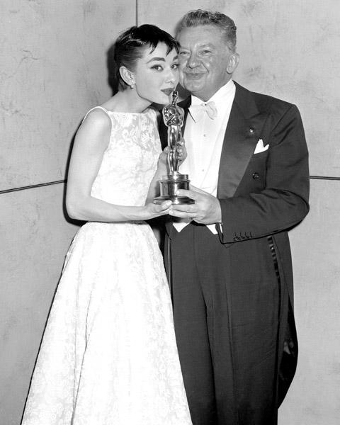 Audrey Hepburn, and Jean Hersholt