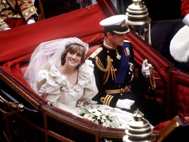 THE PRINCE AND PRINCESS OF WALES WEDDING 29/7/1981