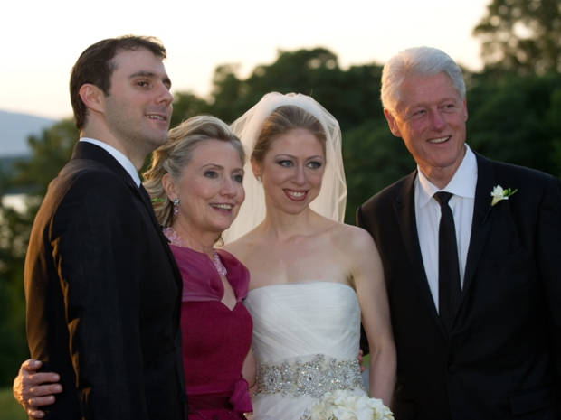 Chelsea Clinton & Marc Mezvinsky Get Married