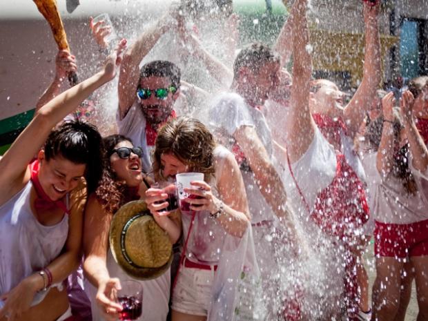 San Fermin festival. Pamplona. Spain