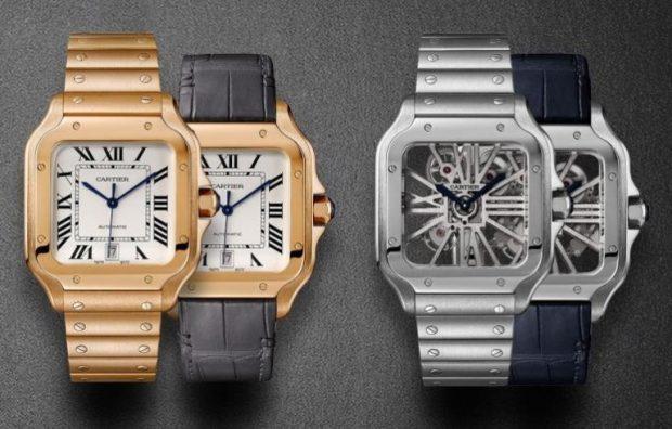 0cb34855324 Cartier relança o clássico relógio de pulso Santos